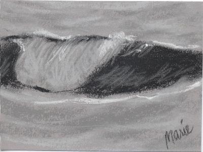 Wave Portrait No. 54-Marie Marfia Fine Art-Giclee Print