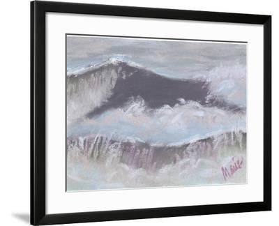 Wave Portrait No. 66-Marie Marfia Fine Art-Framed Giclee Print