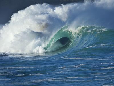 Wave, Waimea, North Shore, Hawaii-Douglas Peebles-Photographic Print