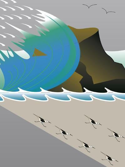 Wave-Marie Sansone-Giclee Print