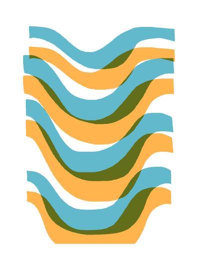 Wave-Francesca Iannaccone-Giclee Print