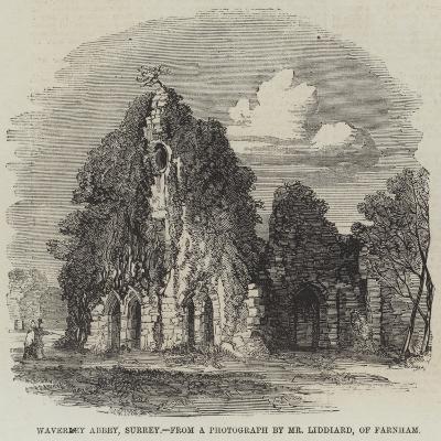 Waverley Abbey, Surrey--Giclee Print