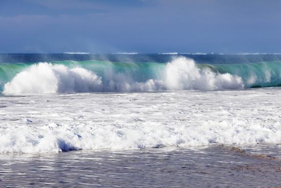 Waves at the Beach, Playa Del Castillo, El Cotillo-Markus Lange-Photographic Print