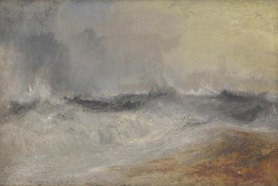 Waves Breaking Against the Wind-J^ M^ W^ Turner-Giclee Print