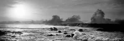 Waves Breaking on Rocks in the Ocean, Three Tables, North Shore, Oahu, Hawaii, USA--Photographic Print