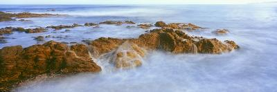 Waves Breaking on the Coast, Cerritos Beach on the Pacific Coast of Baja California Sur, Mexico--Photographic Print