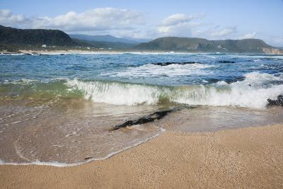 Waves Crashing Ashore at Nature Valley Beach-Kim Walker-Photographic Print