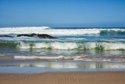 Waves Crashing Ashore from Indian Ocean-Kim Walker-Photographic Print
