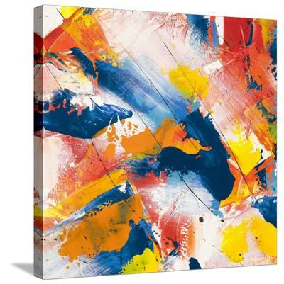 Waves crashing in the summer sky I-Bob Ferri-Stretched Canvas Print