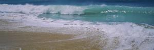 Waves Crashing on the Beach, Kauai, Hawaii, USA