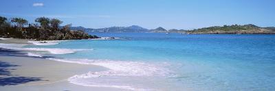 Waves Crashing on the Beach, Turtle Bay, Caneel Bay, St. John, US Virgin Islands--Photographic Print