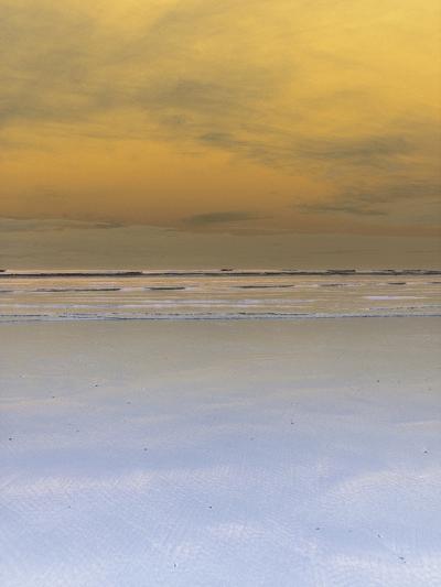 Waves Crashing onto Beach--Photographic Print