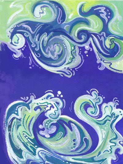 Waves Illo-Cara Kozik-Art Print