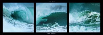 Waves in Motion-Laurent Pinsard-Art Print