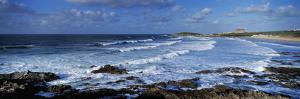 Waves in the Ocean, Fistral Beach, Cornwall, England