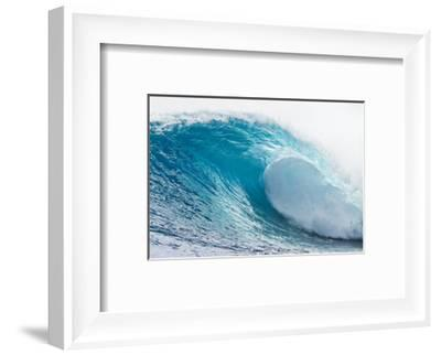 Waves in the Ocean, Tahiti, French Polynesia--Framed Photographic Print