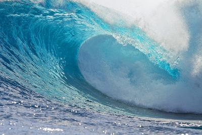 Waves in the Ocean, Tahiti, French Polynesia--Photographic Print