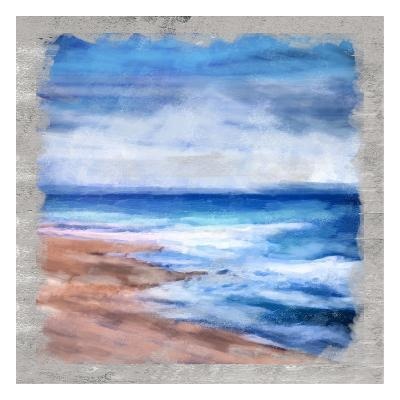 Waves Layered-Cynthia Alvarez-Art Print