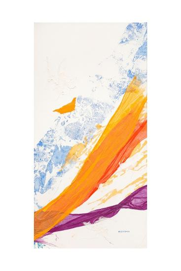 Waves of Washi No. 3-Jan Sullivan Fowler-Art Print