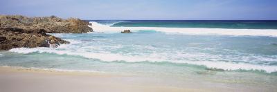 Waves on the Beach, Australia--Photographic Print