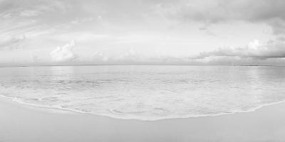 Waves on the beach, Seven Mile Beach, Grand Cayman, Cayman Islands--Photographic Print
