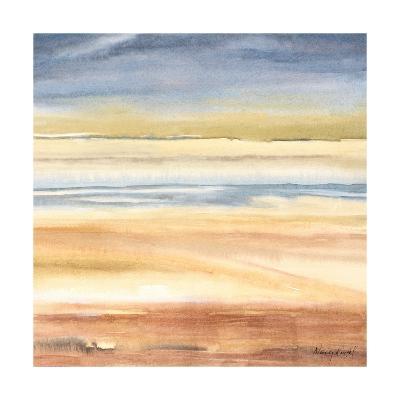 Waves on the Shore-Nancy Knight-Art Print