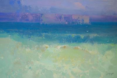 Waves - Pacific Highway-Vahe Yeremyan-Art Print