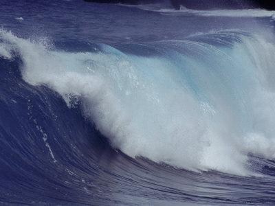 Waves, Pacific Ocean, Christmas Island, Australia-Jurgen Freund-Premium Photographic Print
