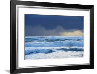Waves, Paparoa National Park, West Coast, South Island, New Zealand-Marco Simoni-Framed Photographic Print