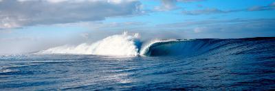 Waves Splashing in the Sea--Photographic Print