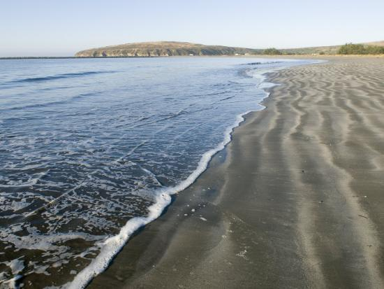 Waves Washing Up on Doran Beach at Bodega Bay-Rich Reid-Photographic Print