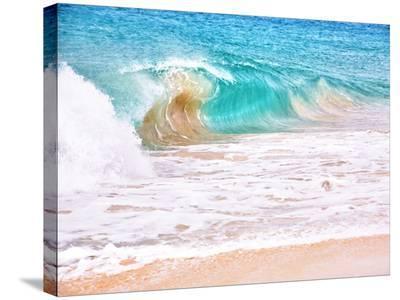 Waves-Tatiana Lopatina-Stretched Canvas Print