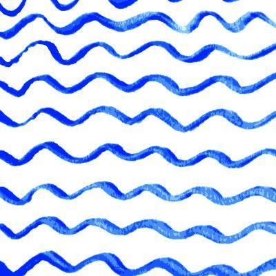 Waves- achupret-Art Print