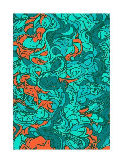 Waves-lordcasco11-Art Print