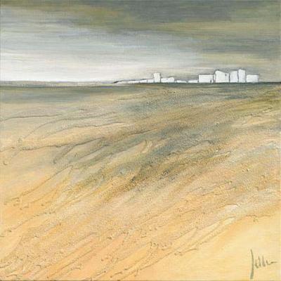 Waving Landscape II-Jettie Roseboom-Art Print