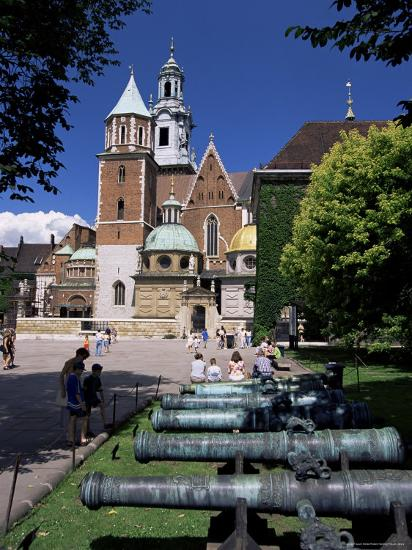 Wawel Cathedral and Castle, Krakow, Makopolska, Poland-Gavin Hellier-Photographic Print