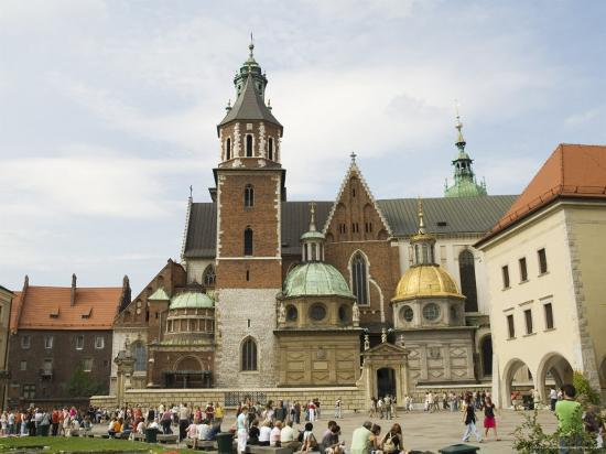 Wawel Cathedral, Royal Castle Area, Krakow (Cracow), Unesco World Heritage Site, Poland-R H Productions-Photographic Print
