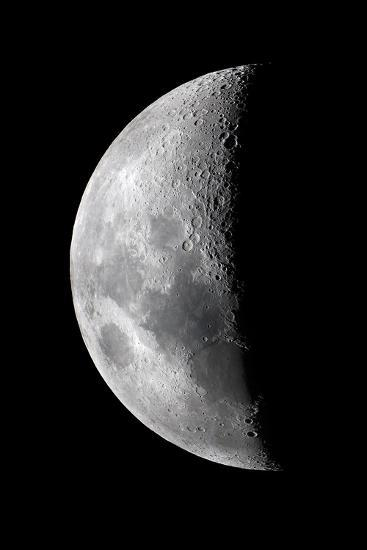 Waxing Crescent Moon-John Sanford-Photographic Print