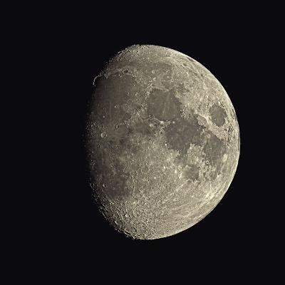 Waxing Gibbous Moon-Eckhard Slawik-Photographic Print