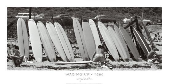 Waxing Up, 1960-Leigh Wiener-Art Print