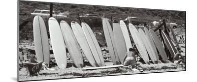 Waxing Up, 1960-Leigh Wiener-Mounted Print