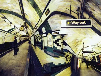Way Out (Russell Square) 1998-Ellen Golla-Giclee Print