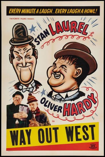 Way Out West, 1937--Giclee Print