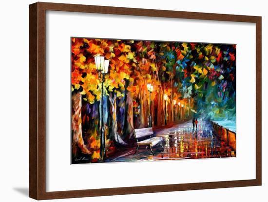 Way To Home-Leonid Afremov-Framed Art Print