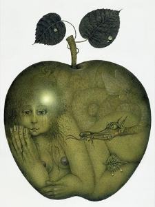 Apple and Eve and Serpent by Wayne Anderson