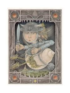 Female Warrior by Wayne Anderson