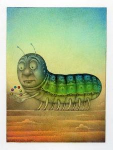 Juggling Caterpillar by Wayne Anderson