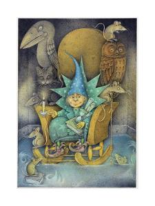 Sorcerer's Apprentice, 2000 by Wayne Anderson