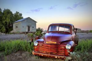 Old Chev by Wayne Bradbury