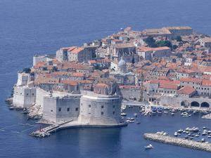 Old Wall City of Dubrovnik, Croatia by Wayne Hoy
